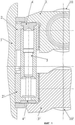 Гибочное и уравновешивающее устройство для сдвигаемых в осевом направлении рабочих валков прокатной клети