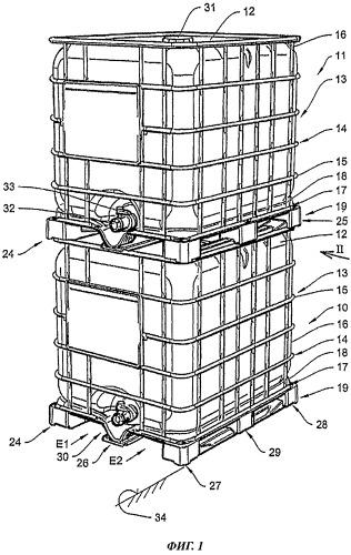 Резервуар для транспортировки и хранения жидкостей