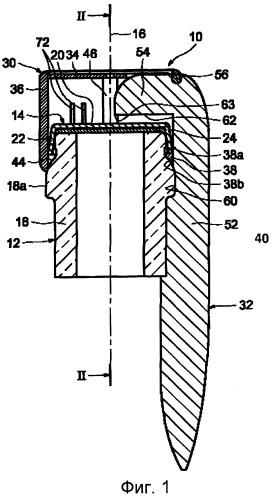 Ключ для откупоривания укупорочного колпачка, укупорочный узел, содержащий укупорочный колпачок и такой ключ