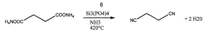 Способ получения соединений, содержащих функциональные нитрильные группы