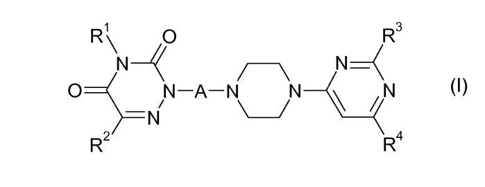 Производные 1,2,4-триазин-3,5-диона для лечения нарушений, реагирующих на модулирование рецептора допамина d3