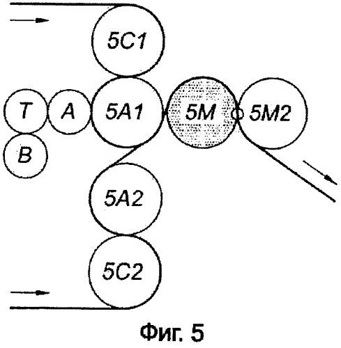 Установка для соединения двух полос целлюлозной ваты с или без маркировки упомянутых полос