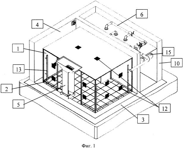 Термостатированное помещение для работы высокоточного измерительного оборудования