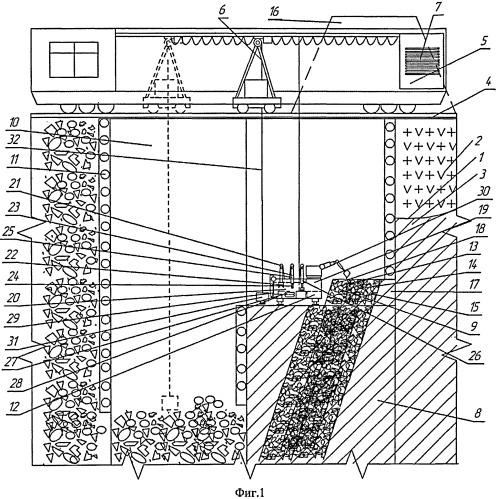 Способ разработки месторождений полезных ископаемых полускального и нескального типа