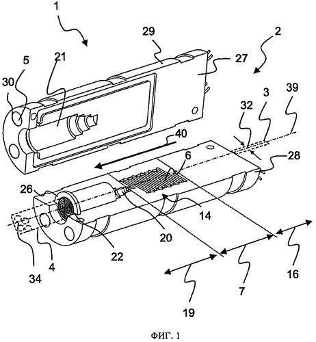 Испарительное устройство для получения газообразного аммиака на транспортном средстве и способ изготовления такого устройства
