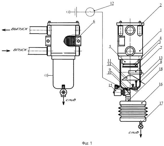 Комбинированный топливный фильтр