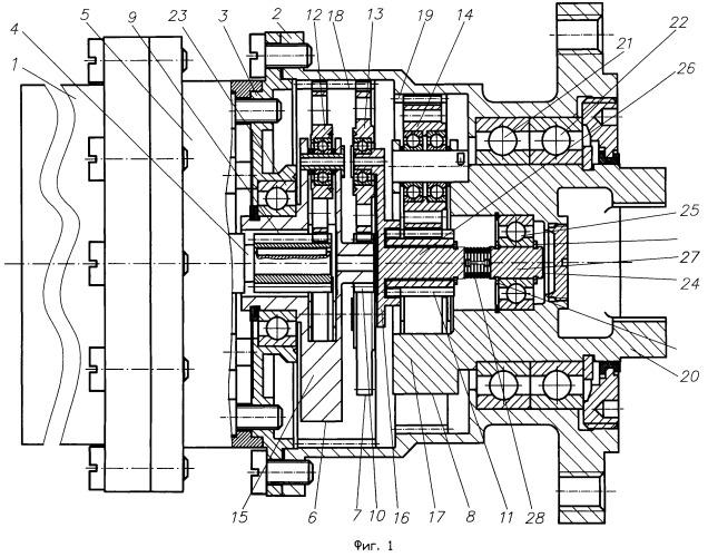 Способ работы электропривода с планетарным редуктором