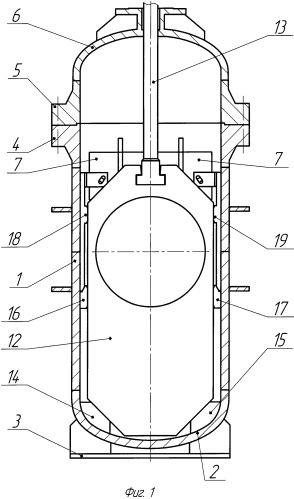 Корпус трубопроводной арматуры