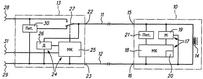 Клапанный механизм гидравлической мощности, по меньшей мере, с одним электромагнитным клапаном