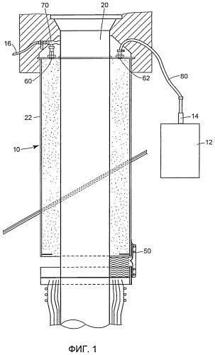 Способ и устройство для изоляции полости в компоненте низкотемпературного или криогенного резервуара для хранения