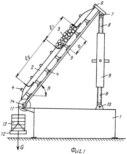 Стенд для исследования параметров ленты с поперечными перегородками для крутонаклонного ленточного конвейера