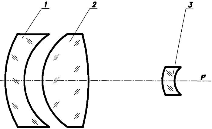 Трехлинзовый объектив