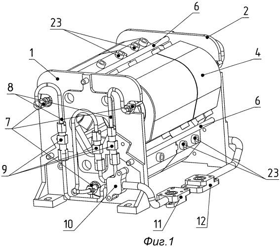 Трансформатор трехфазный высоковольтный с системой жидкостного охлаждения