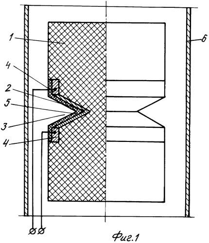 Взрывное устройство выключателя электрического тока