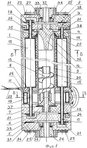 Комбинированное вихревое термоэлектрическое устройство