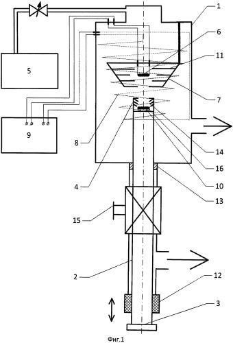 Устройство для облучения изделий потоком атомов водорода с тепловыми скоростями