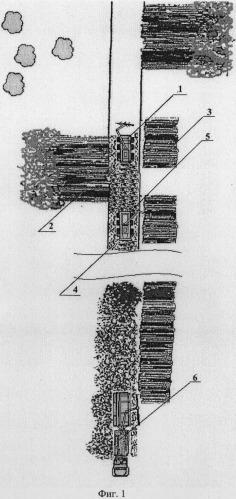 Способ создания покрытия усов на участках с низкой несущей способностью грунтов