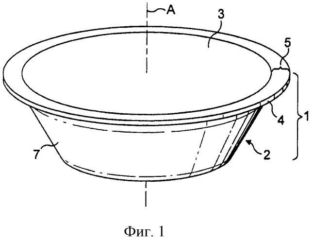 Система для капсул, устройство и способ приготовления содержащейся в контейнере пищевой жидкости с помощью центрифугирования