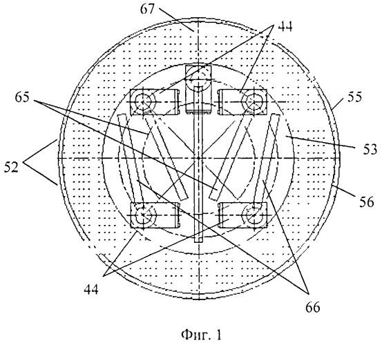 Устройство выдвижных элементов зажима и его позиционное расположение внутри сферического корпуса многофункциональной диагностико-хирургической робототехнической системы с возможностью информационно-компьютерного управления им. ю.и. русанова
