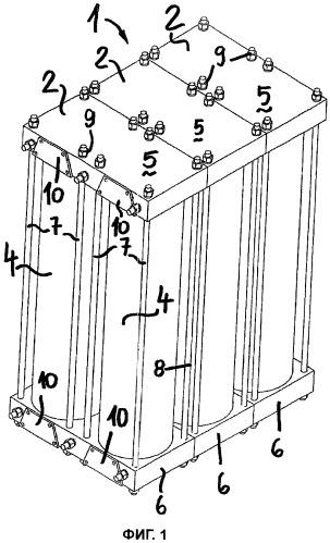 Модульные газоразделительные адсорберы