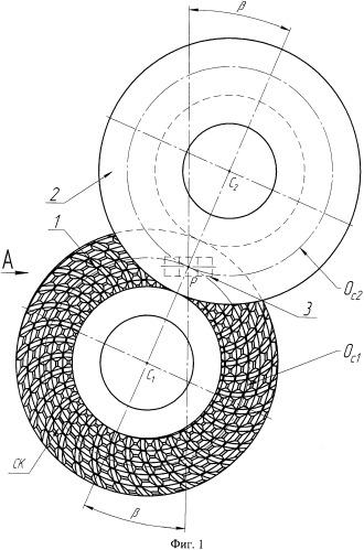 Способ обработки цилиндрических зубчатых колес шевингованием-прикатыванием