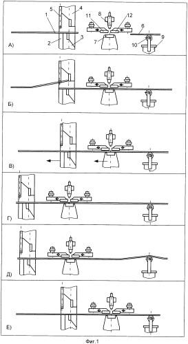 Способ дуговой сварки полос в непрерывных металлургических агрегатах