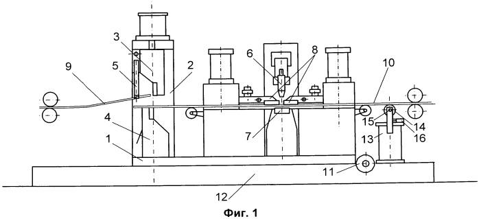 Устройство для дуговой сварки полос на машинах непрерывных металлургических агрегатов