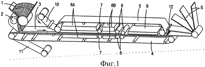 Способ и установка для изготовления ламинированных панелей для пола, включающих основу, содержащую древесно-полимерный композиционный материал, а также указанные панели