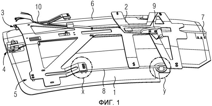 Затеняющее устройство для лобового стекла головного вагона