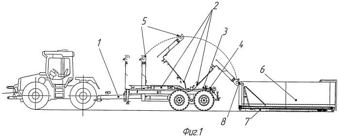 Транспортное средство со сменным кузовом для перевозки сельскохозяйственных грузов