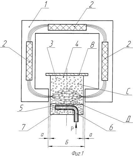 Способ получения графита из воздушной взвеси частиц каменного угля и устройство для его осуществления
