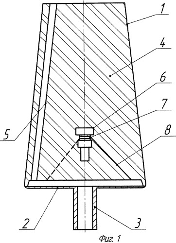 Фурма для донной продувки металла газами в ковше и способ ее изготовления