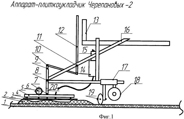 Аппарат-плиткоукладчик черепановых-2
