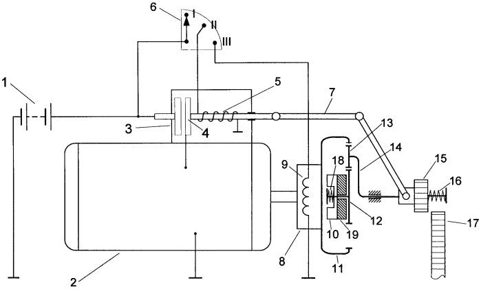Система двухрежимного электростартерного пуска двс