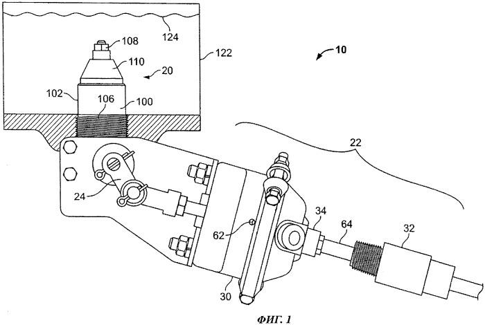 Приводное устройство с регулируемым расходом для использования с автоматическими запорными клапанами