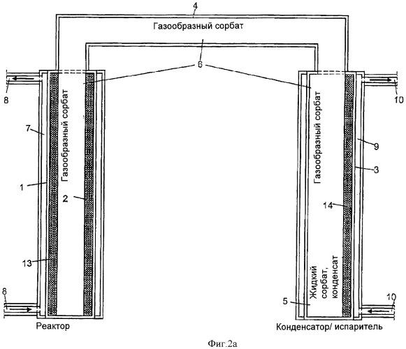 Тепловой коллектор солнечной энергии для выработки тепла и/или охлаждения