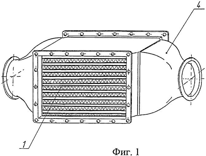 Способ изготовления теплообменника, теплообменник из композиционных материалов и способ изготовления гофрированного листа для теплообменника