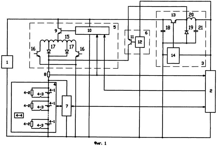 Способ заряда литий-ионной аккумуляторной батареи из n последовательно соединенных аккумуляторов с подключенными к ним через коммутаторы балансировочными резисторами