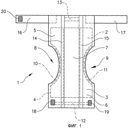 Предназначенное для упаковывания складывание гигиенических изделий одноразового использования, имеющих пояса