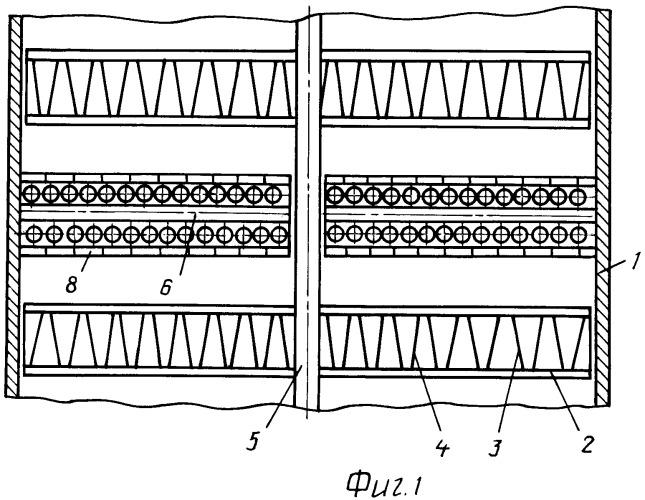 Экстрактор противоточных потоков фаз