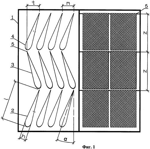 Регулярная насадка для тепло-массообменных аппаратов
