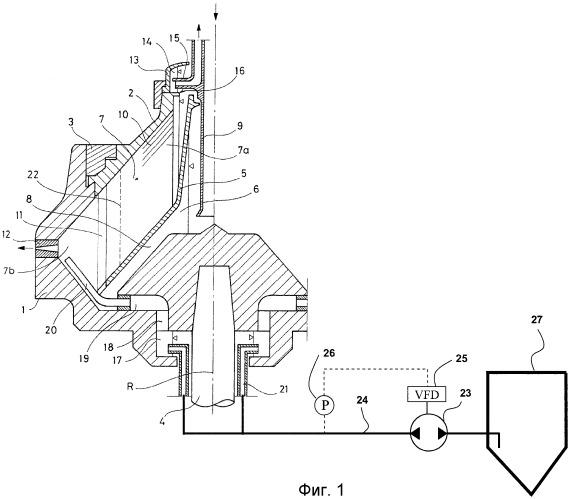 Центробежный сепаратор и способ сепарации