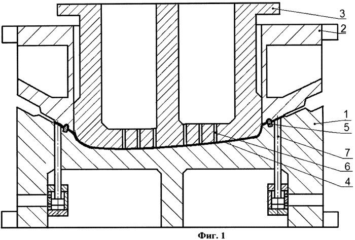 Штамп для вытяжки сложной крупногабаритной детали с пневмосъемниками в матрице (варианты)