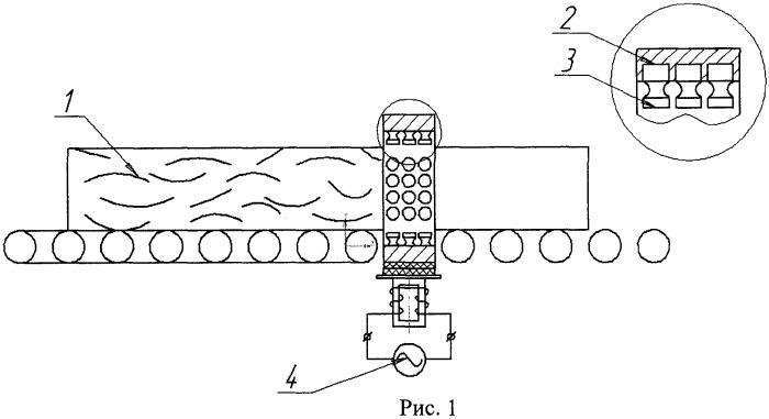 Способ окорки лесоматериалов ультразвуком в воздушной среде