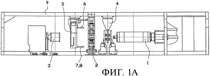 Способ изготовления сырой шины с использованием сборочного барабана и перегрузочного устройства
