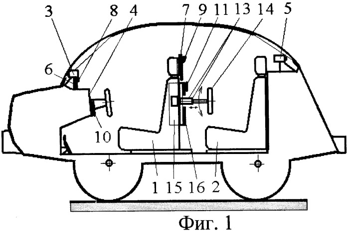 Многофункциональная автомобильная система видеонаблюдения