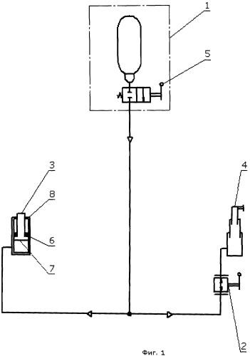 Система аварийного спасения экипажа самолета методом катапультирования