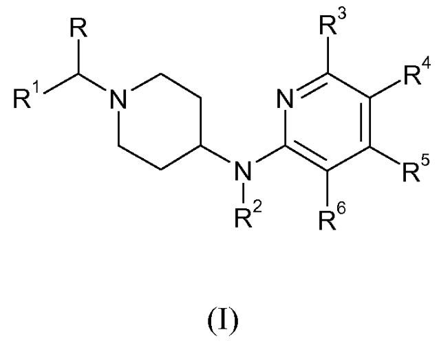 Производные пиридина, используемые в качестве быстро диссоциирующихся антагонистов допаминовых рецепторов 2