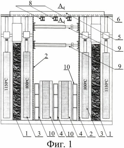 Способ ремонта огнеупорной кладки печей коксовой батареи