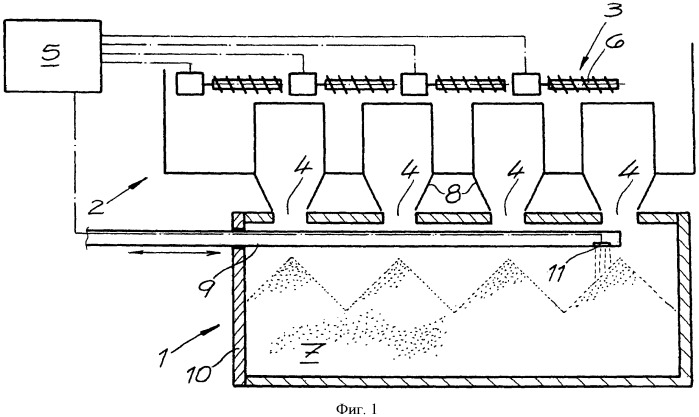 Планировочное устройство и способ загрузки печной камеры коксовой батареи